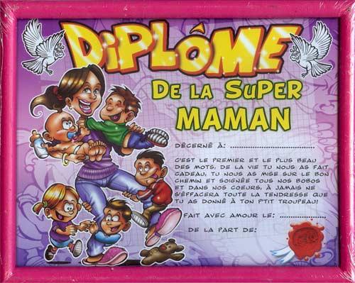 Diplome Pour Ma Maman